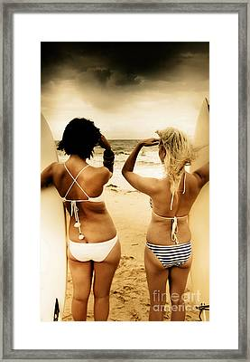Future Vision Framed Print by Jorgo Photography - Wall Art Gallery
