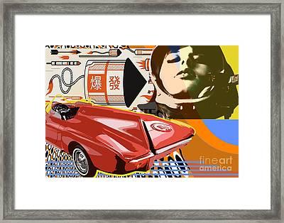 Futurepop Framed Print by Michael Eddington