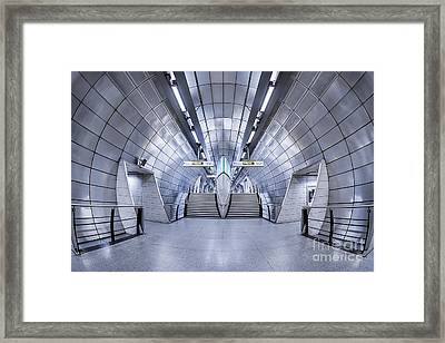 Futurism Framed Print by Evelina Kremsdorf
