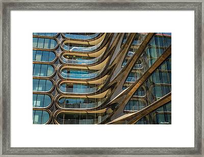 Futuristic Residence Framed Print