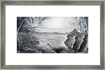 Fuxi And Nu Wa In The Garden Of Eden Framed Print