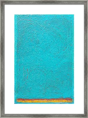 Color Order No. 88 24 X 36 Oil On Canvas 2016 Framed Print