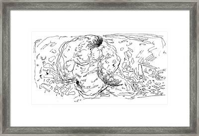 G 3 Framed Print