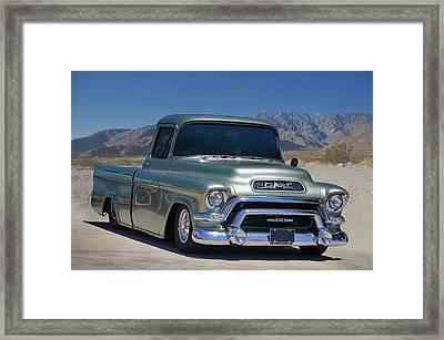 G M C Pickup Framed Print
