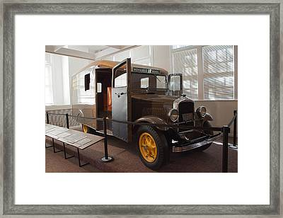 G W Carver Movable School Framed Print by Arnold Hence