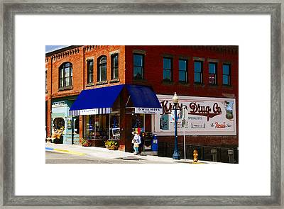 G Willikers Toy Shoppe Framed Print by David Lee Thompson