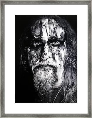 Gaahl Framed Print