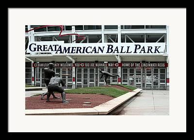 Gabp Cincinnati Reds Framed Prints