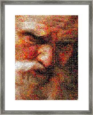 Gabriel Francois Doyen - Neptune Framed Print by Gilberto Viciedo