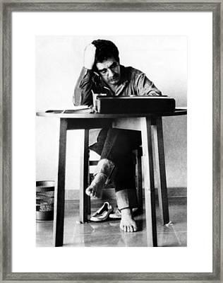 Gabriel Garcia Marquez, Ca. 1970s Framed Print by Everett