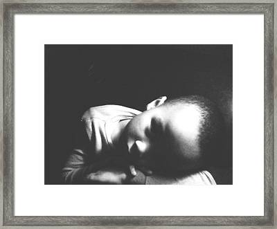 Gabriels Moment Framed Print
