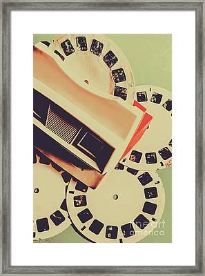 Gadgets Of Nostalgia Framed Print