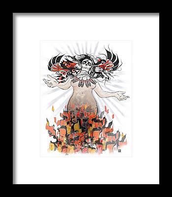 Consciousness Framed Prints
