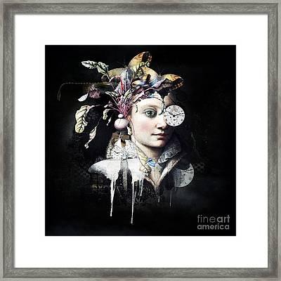 G.a.i.a Framed Print by Monique Hierck