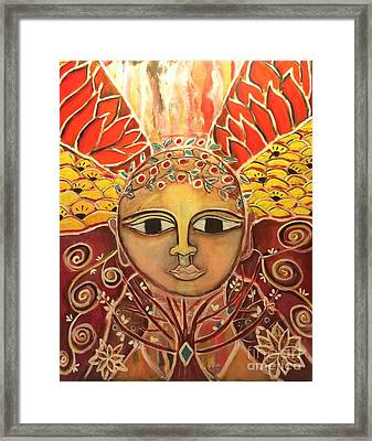 Gaia - Mother Earth  Framed Print