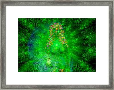 Gaia Framed Print by Robby Donaghey