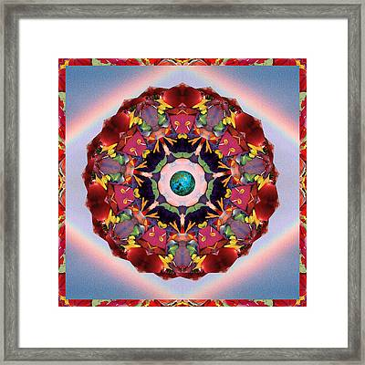 Gaian Arc Framed Print