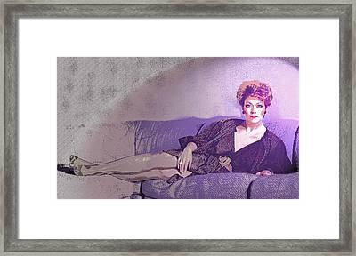 Gail - 1 Framed Print by Jim Justinick