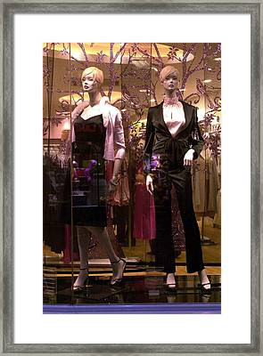 Gail And Gali Framed Print by Jez C Self