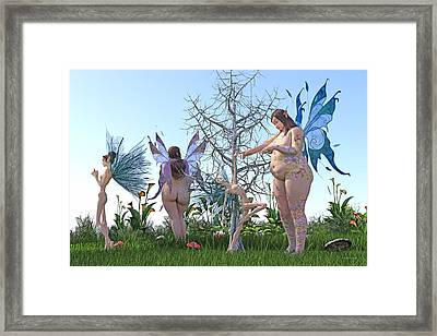 Gained Loss  Framed Print by Betsy Knapp