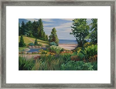 Gairloch Gardens Framed Print by Rita-Anne Piquet
