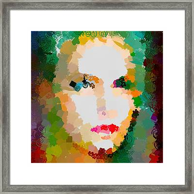 Gal Hotty Totty Framed Print