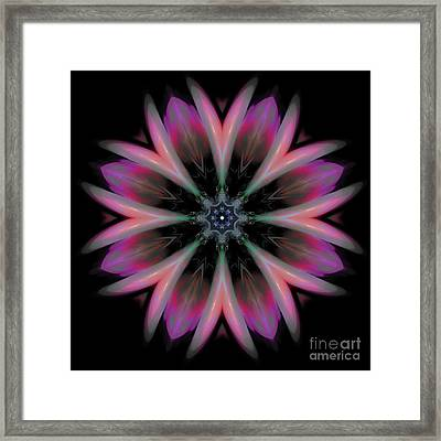 Galactic Boutonniere Framed Print