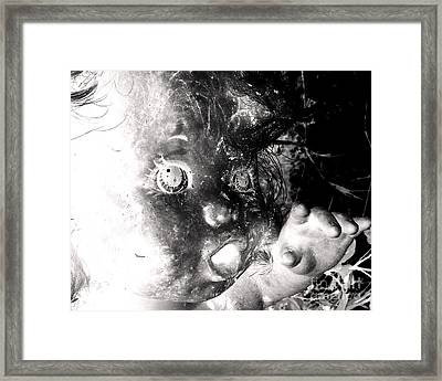 Galactic Child Framed Print by Jack Norton