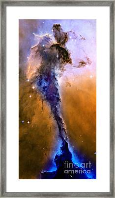 Galactic Mermaid Framed Print by Jon Neidert