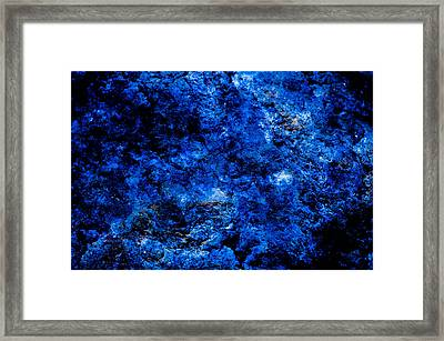 Galactic Night Abstract Framed Print