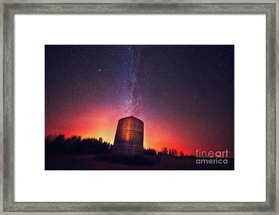 Galactic Prairie Framed Print by Ian McGregor