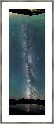 Galactic Reach Framed Print by Darren White