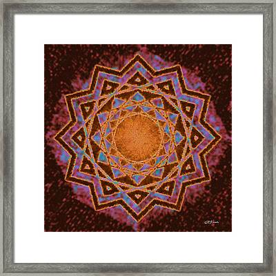 Galactic Tension Framed Print