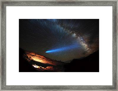 Galactic Traveler Framed Print by Darren White