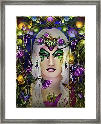 Galadriel Framed Print