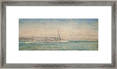Galatea And Her Sistership Framed Print by MotionAge Designs