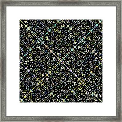 Galaxies Lite Framed Print by Ron Brown