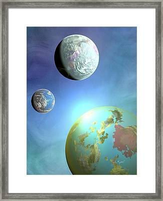 Galaxy 2 Framed Print by John Keaton