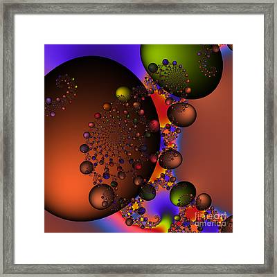 Galaxy 213 Framed Print by Rolf Bertram