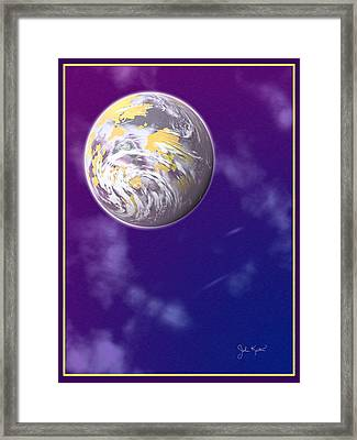 Galaxy 3 Framed Print by John Keaton