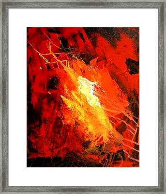 Galaxy Abstract1of4 Framed Print by Teo Alfonso