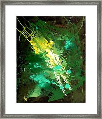 Galaxy Abstract3of4 Framed Print by Teo Alfonso