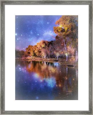 Galaxy Framed Print by Lisa S Baker