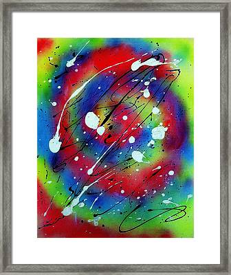 Galaxy Framed Print by Patrick Morgan