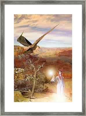 Galdorcraeft Framed Print by John Edwards