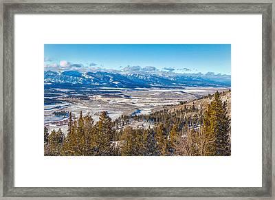 Galena Summit Idaho Framed Print
