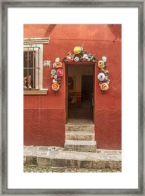 Galeria Buena Vida Framed Print by Lindley Johnson