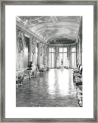 Galerie D'hercule Framed Print by Charles Le Brun