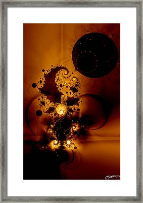 Galileo's Muse Framed Print by Casey Kotas