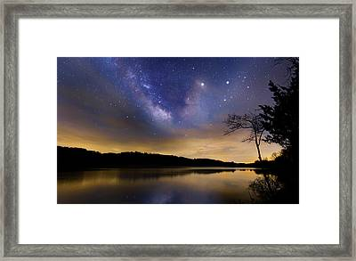 Gallactic Sunrise Framed Print by Bill Wakeley